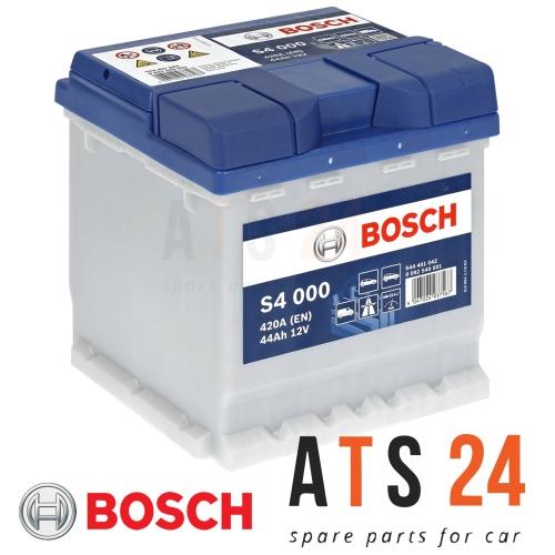 Starterbatterie Bosch 0092S40001 S4 für Audi Barreiros Bmw Citroën Fiat Lancia