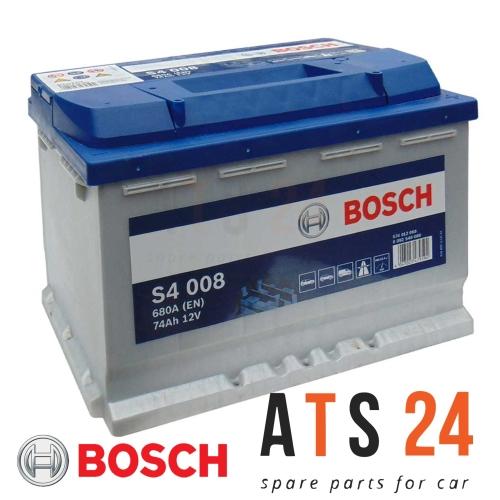 Starterbatterie Bosch 0092S40080 S4 für Alfa Romeo Audi Barreiros Bmw Chrysler