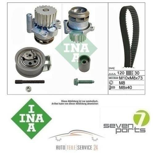 Zahnriemensatz Spannrolle Gates und Wasserpumpe Audi A2 A3 VW Passat 1.4 1.9 TDI