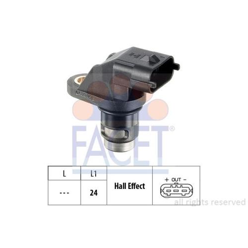 Sensor Drehzahl Facet 9.0438 Made In Italy - Oe Equivalent für Mercedes Benz VW