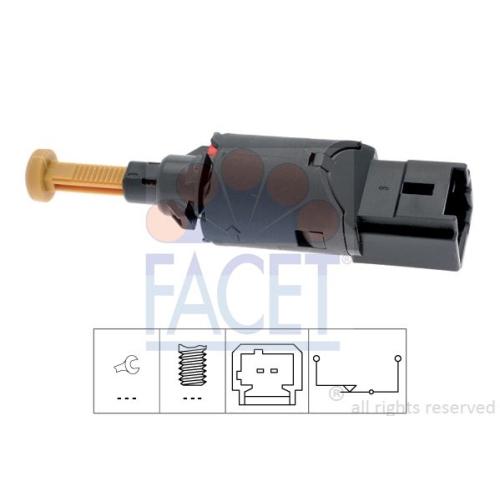 1 Bremslichtschalter FACET 7.1194 Made in Italy - OE Equivalent für CITROËN