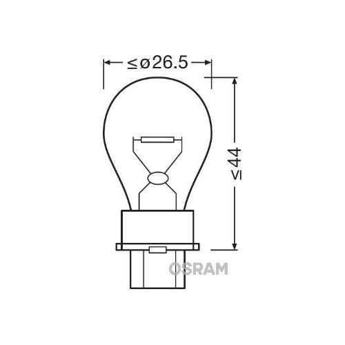 Glühlampe Blinkleuchte Osram 3156 Original für Fahrzeugheckklappe Hinten Vorne