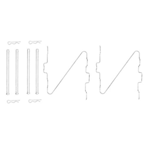 1 Zubehörsatz, Scheibenbremsbelag TRW PFK67 PEUGEOT TALBOT, Vorderachse