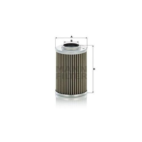 Hydraulikfilter Automatikgetriebe Mann-filter H 710/1 x für Iveco Mercedes Benz