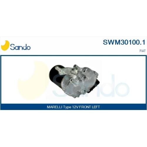 Wischermotor Sando SWM30100.1 für Fiat Vorne
