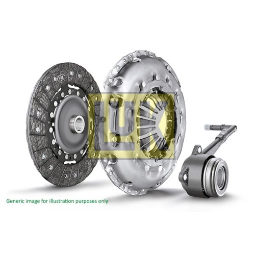 1 Kupplungssatz Luk 624 3034 34 Luk Repset Pro für Audi Ford Seat Skoda VW