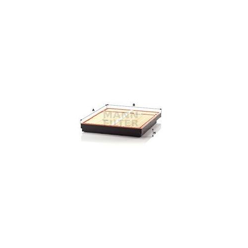 1 Luftfilter MANN-FILTER C 64 1500/1 MERCEDES-BENZ