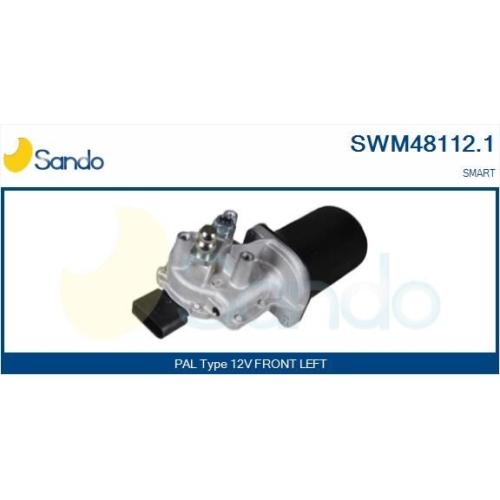 Wischermotor Sando SWM48112.1 für Smart Vorne