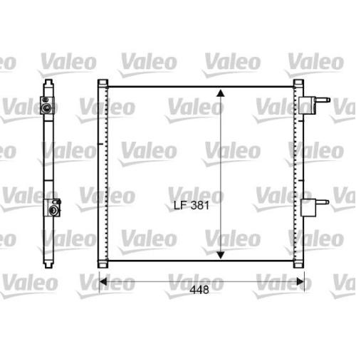 Kondensator, Klimaanlage VALEO 817225 FORD