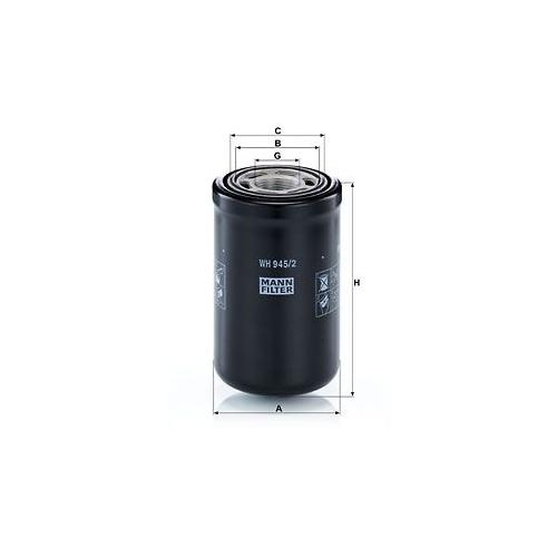 Filter Arbeitshydraulik Mann-filter WH 945/2 für Steyr Bomag Case Ih Deutz Fahr