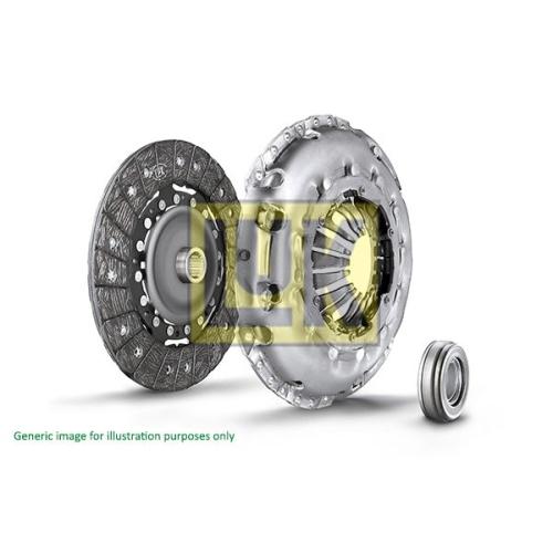 1 Kupplungssatz LuK 625 3047 00 LuK SAC, für Motoren mit Zweimassenschwungrad