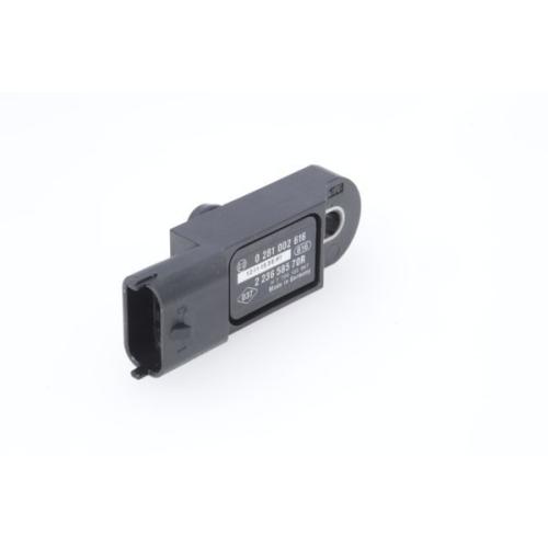 1 Sensor, Ladedruck BOSCH 0281002616 für RENAULT