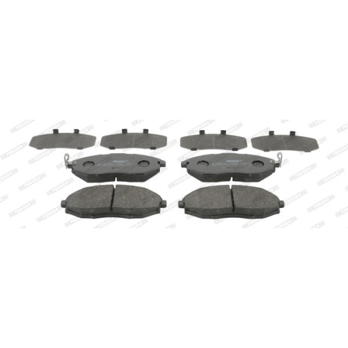 4 Bremsbelagsatz, Scheibenbremse FERODO FDB4304 PREMIER ECO FRICTION für DAEWOO
