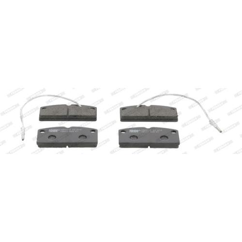 4 Bremsbelagsatz, Scheibenbremse FERODO FDB4013 PREMIER ECO FRICTION für AIXAM