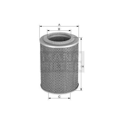 Filter Arbeitshydraulik Mann-filter H 12 105 x für Allis Chalmers Timberjack