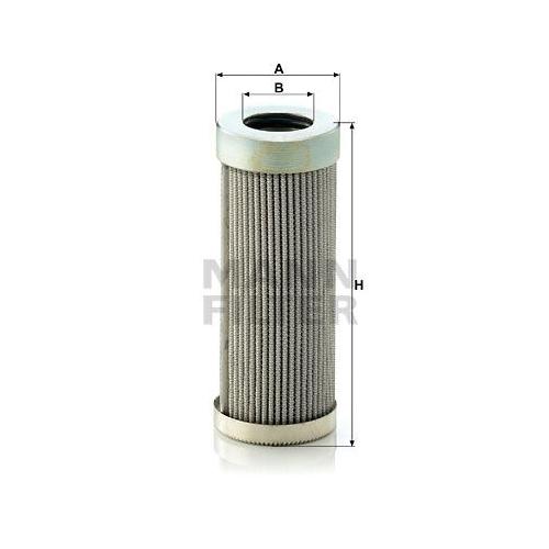 1 Filter Arbeitshydraulik Mann-filter HD 58 für O & K