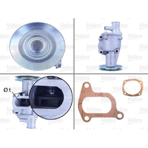 Wasserpumpe VALEO 506079 für FIAT SEAT ZASTAVA AUTOBIANCHI