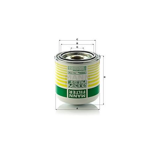 Lufttrocknerpatrone Druckluftanlage Mann-filter TB 1364 x für Daf