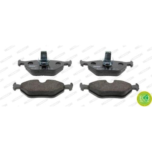 Bremsbelagsatz Scheibenbremse Ferodo FDB1075 Premier Eco Friction für Bmw Alpina