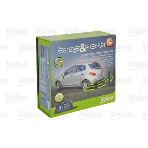 Einparkhilfe VALEO 632002, hinten, für Fahrzeuge mit Anhängevorrichtung