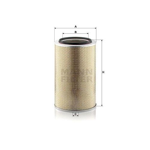 1 Luftfilter MANN-FILTER C 30 850/7 FIAT IVECO MERCEDES-BENZ