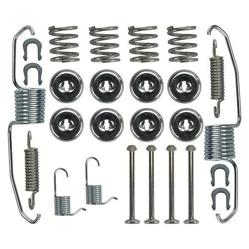 1 Zubehörsatz, Bremsbacken TRW SFK124 TOYOTA, Hinterachse
