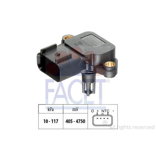 Luftdrucksensor Höhenanpassung Facet 10.3077 Made In Italy - Oe Equivalent für