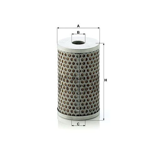 Filter Arbeitshydraulik Mann-filter H 601/4 für Bmw Daf Fiat Iveco Leyland Volvo