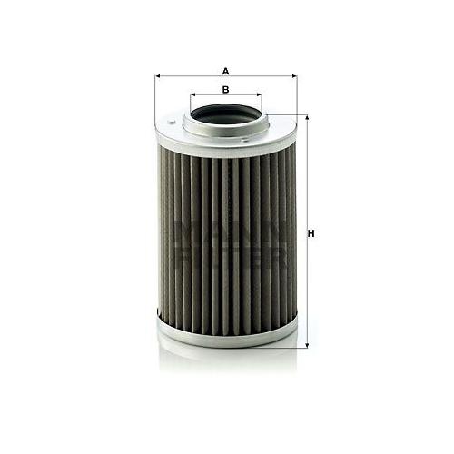 Hydraulikfilter Automatikgetriebe Mann-filter H 710/1 n für Daf Iveco Heuliez