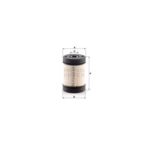 1 Harnstofffilter MANN-FILTER U 630 x KIT für IVECO VOLVO CASE IH RENAULT TRUCKS