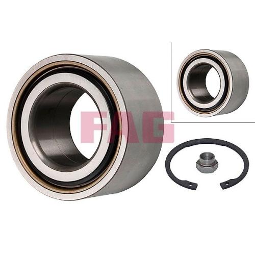 Radlagersatz Fag 713 6780 40 für Ford Mazda Vorderachse