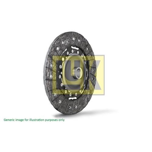 1 Kupplungsscheibe LuK 320 0001 16 für VW