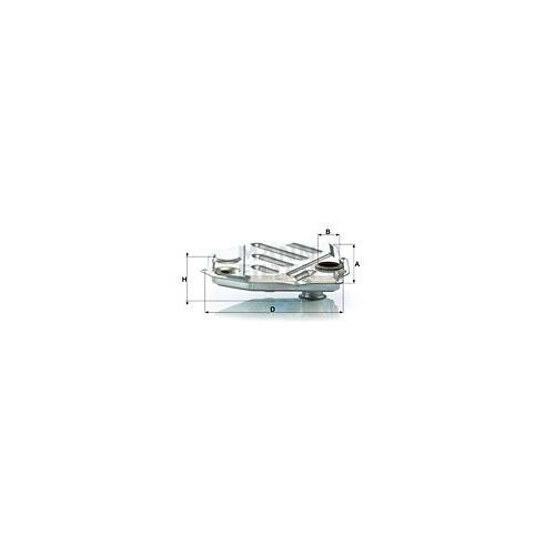 Hydraulikfilter Automatikgetriebe Mann-filter H 1914/1 für Mercedes Benz