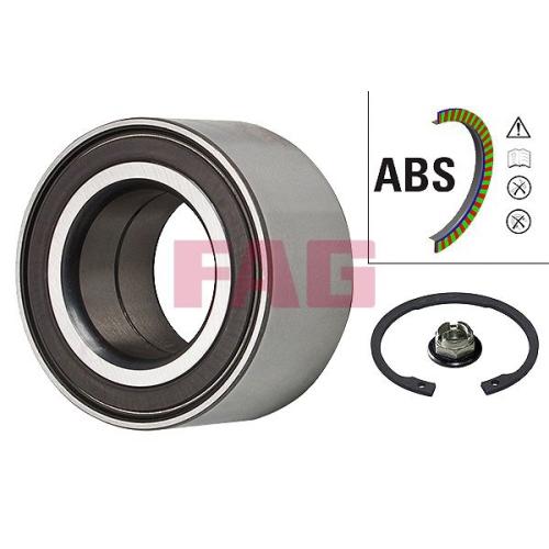 Radlagersatz Fag 713 6781 00 für Ford Mazda Vorderachse