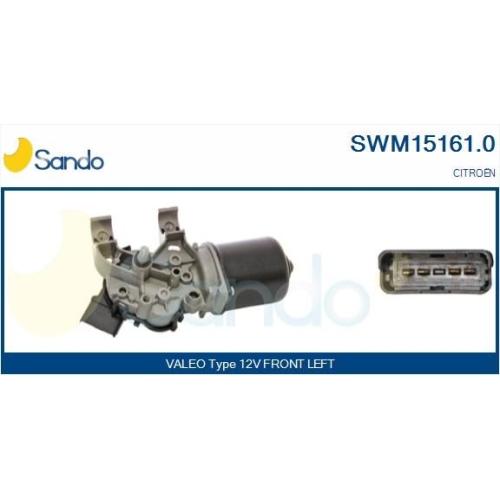Wischermotor Sando SWM15161.0 für Citroën/peugeot Vorne
