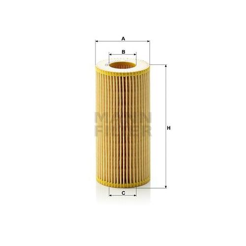 Ölfilter Mann-filter HU 721/2 x für Mercedes Benz Mercedes Benz Mercedes Benz
