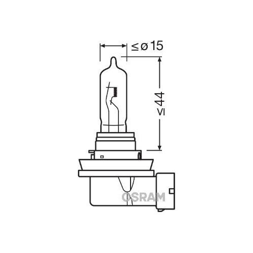 Glühlampe Fernscheinwerfer Osram 64213 Original für