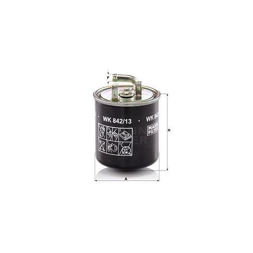 1 Kraftstofffilter Mann-filter WK 842/13 für Mercedes Benz Mercedes Benz