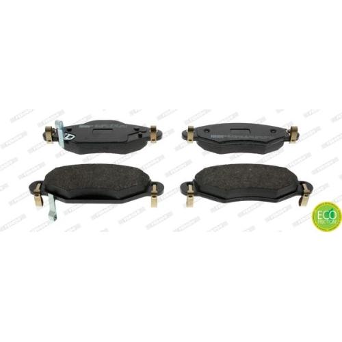 4 Bremsbelagsatz, Scheibenbremse FERODO FDB1513 PREMIER ECO FRICTION für TOYOTA