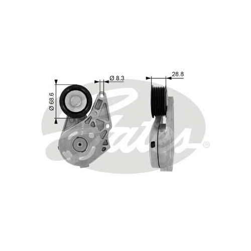 Riemenspanner, Keilrippenriemen GATES T38175 DriveAlign® FORD VW