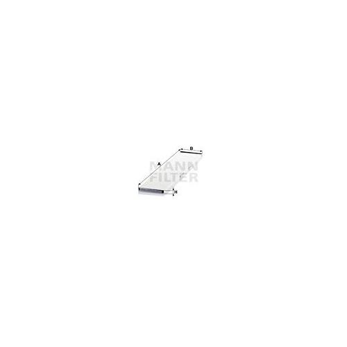 Filter Innenraumluft Mann-filter CU 6034 für Mercedes Benz Mercedes Benz Setra
