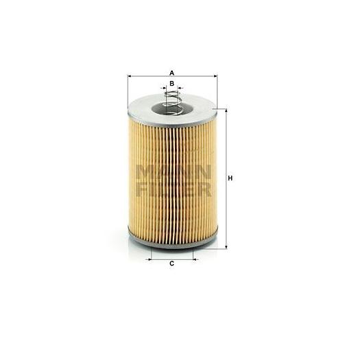 Filter Arbeitshydraulik Mann-filter H 1275 x für Mercedes Benz Mercedes Benz