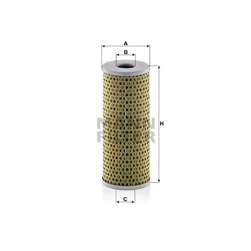 Filter Arbeitshydraulik Mann-filter H 729 für Mercedes Benz Mercedes Benz