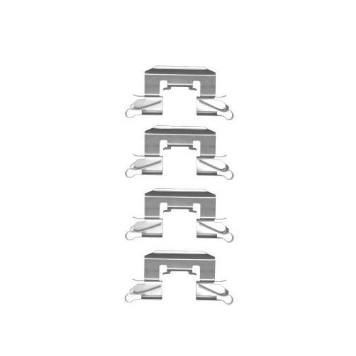 1 Zubehörsatz Scheibenbremsbelag Hella Pagid 8DZ 355 204-691 für Ford Mazda