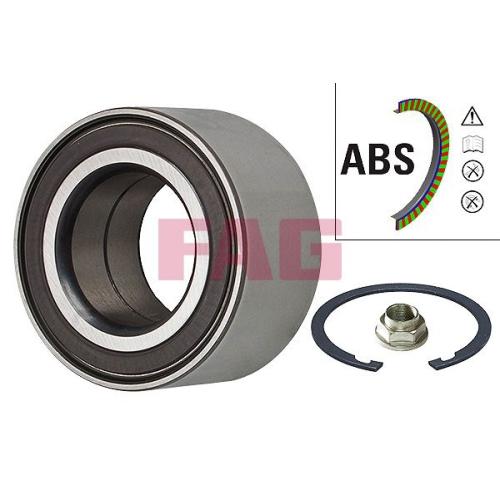 Radlagersatz Fag 713 6157 30 für Ford Mazda Hinterachse Vorderachse