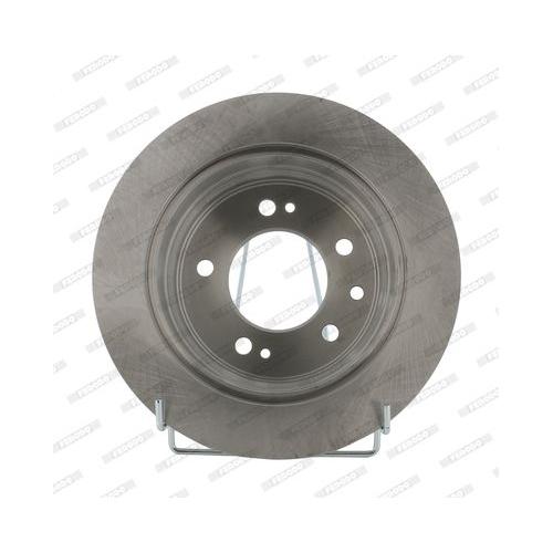 2 Bremsscheibe FERODO DDF1618 PREMIER für HYUNDAI KIA, Hinterachse