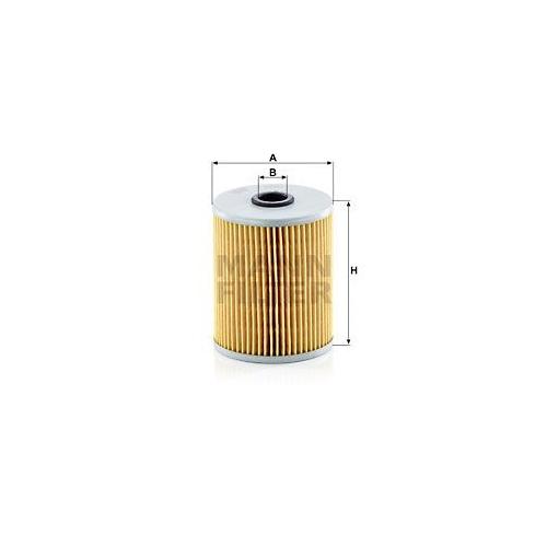 1 Filter Arbeitshydraulik Mann-filter H 929/3 für Scania