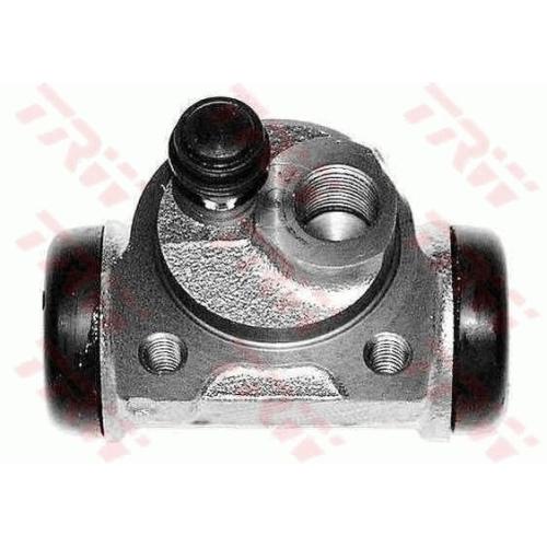 1 Radbremszylinder TRW BWD129 für CITROËN PEUGEOT, Hinterachse, links