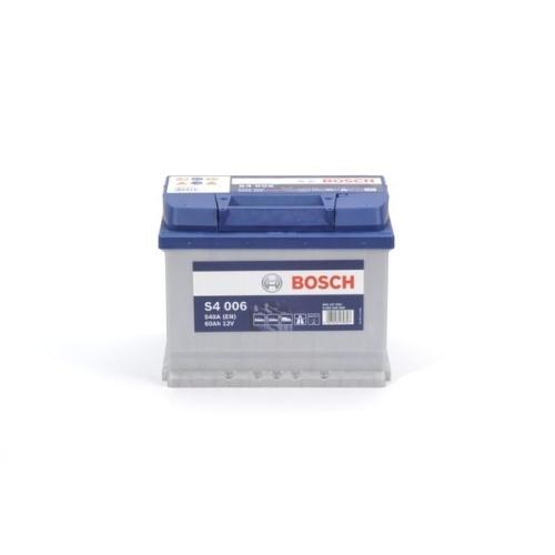 bosch s4 006 autobatterie starterbatterie 12v 60ah 540a. Black Bedroom Furniture Sets. Home Design Ideas