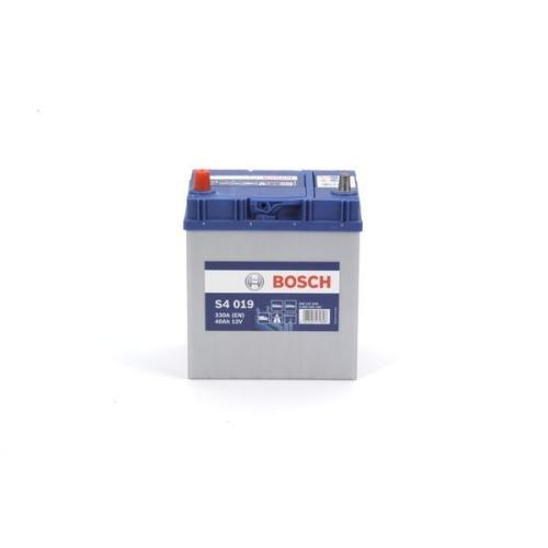 Starterbatterie Bosch 0092S40190 S4 für Mazda Nissan Opel Suzuki Toyota Daewoo